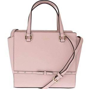 Kate Spade Hadlee Laurel Way Jeweled Tote Bag Pink